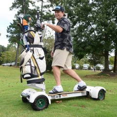Photos: Surfing the fairways on a GolfBoard | The Island Packet