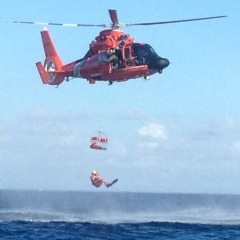 U.S. Coast Guard sea, air and Auxiliary crews drill for the worst