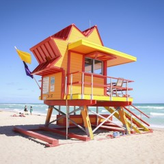 Miami Beach Debuts Lifeguard Stands | Miami New Times