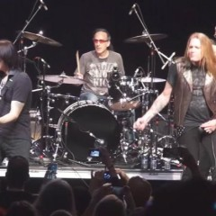 "Steve Vai and Sebastian Bach Play Rush's ""Tom Sawyer"""