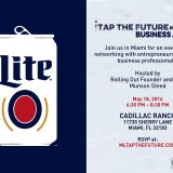 Tap the Future – Networking Event