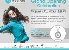 Kreations – Grand Opening!